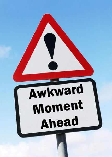 35 Absurd ways to create an awkward moment in an interview