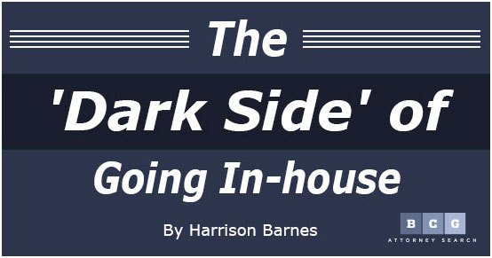 The 'Dark Side' of Going In-house