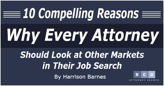You need to look at other markets in your job search and consider relocating. Here's why.