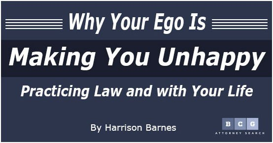 Learn why your ego is making you unhappy in this article.