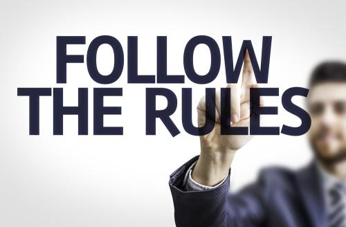 Follow these five class-based rules and you will be more likely to achieve success in the legal profession.
