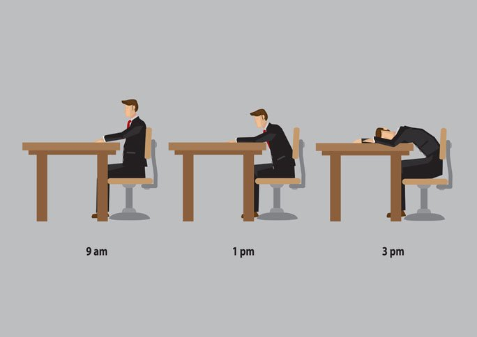 How Can an Attorney Handle Afternoon Drowsiness?