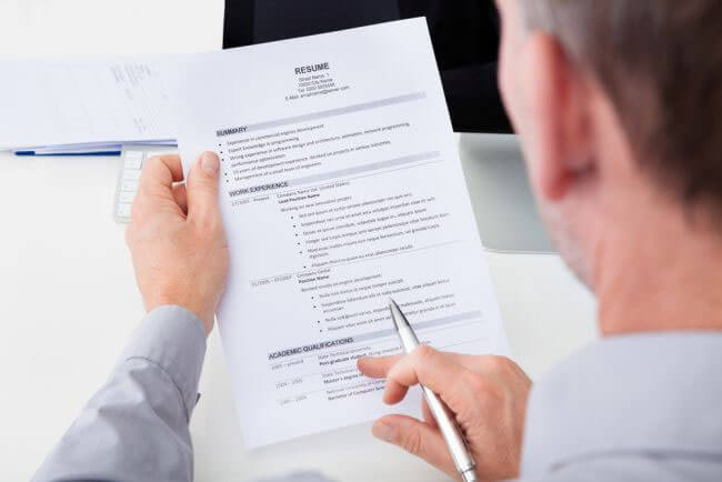 How should I prepare my resume if I'm getting ready for a law firm job search?