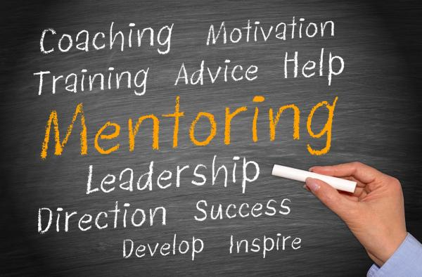 Mentoring involves coaching, motivation, training, advice, leadership, and more.