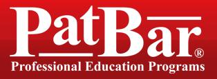 Pat Bar professional education programs