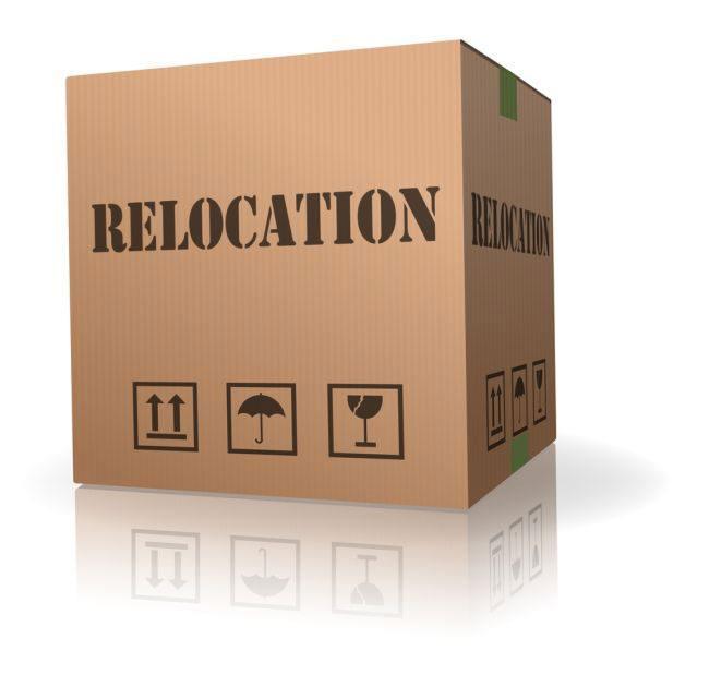 Relocation!  Relocation!  Relocation!