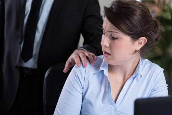 What should associates do if they are getting sexually harassed by partners?