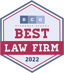 Best Law Firm Badge BCG Attorney Search