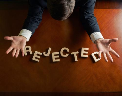 You need to learn how to not take rejection personally in your legal job search to be successful.